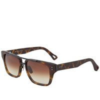 Dita Mach Three Sunglasses Matte Tortoise And Brown