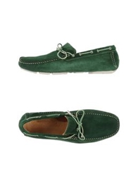 Gold Brothers Moccasins Green