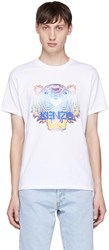 Kenzo White Limited Edition Tiger T Shirt