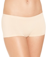 Jenni By Jennifer Moore Seamless Boyshort 914429B246 Almond