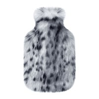 Helen Moore Hot Water Bottle Arctic Leopard