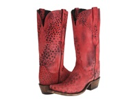 Lucchese N9635.S53 Red Cheetah Cowboy Boots