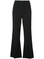 Roland Mouret Flared Trousers Black