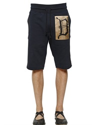 Dries Van Noten Cotton Jogging Shorts With Side Bands
