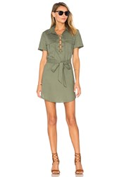 L'academie The Safari Dress Olive