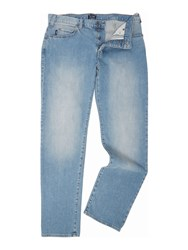 Armani Jeans J21 Regular Fit Light Wash Denim Light Wash