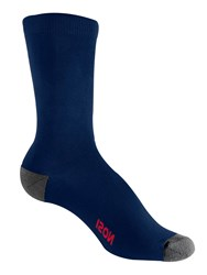 Craghoppers Nosilife Travel Twin Pack Socks Navy
