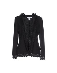 Oscar De La Renta Suits And Jackets Blazers Women Black