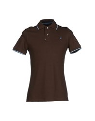 Jaggy Topwear Polo Shirts Men Dark Brown