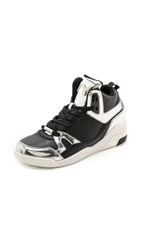 Dkny Cleo High Top Sneakers Black Silver