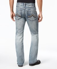 Inc International Concepts Men's Modern Bootcut Faded Jeans Only At Macy's Medium Wash