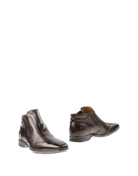 Nero Giardini Ankle Boots Dark Brown