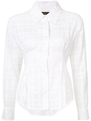 Vivienne Westwood Anglomania 'Ringstead' Shirt Women Cotton 40 White