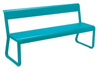 Fermob Bellevie Bench With Back Black