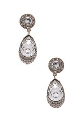 Givenchy Victorian Pendant Earrings In Metallics