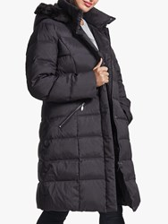 Four Seasons Quilted Coat Black