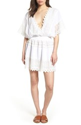Kas New York Rosa Lace Minidress White