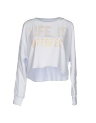 Merfect M Erfect Sweatshirts White