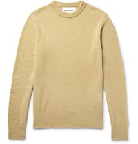 Our Legacy Virgin Wool Blend Sweater Camel