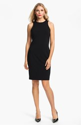 Women's Karen Kane Sleeveless Sheath Dress Black