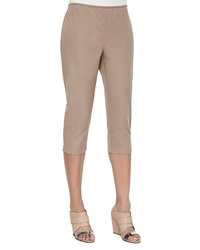 Eileen Fisher Organic Cotton Slim Capri Pants