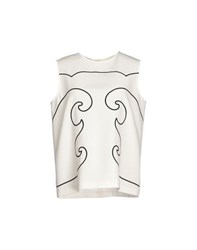 Moschino Cheap And Chic Moschino Cheapandchic Topwear Tops Women Ivory