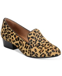 Sofft Begonia Smoking Flats Women's Shoes Natural