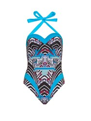 Paolita Rhapsody Balconette Swimsuit Blue Multi