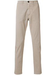 Eleventy Ankle Grazer Jeans Nude And Neutrals