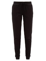 Skin Pima Cotton Track Pants Black