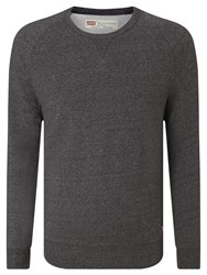 Levi's Original Crew Neck Jumper Grey