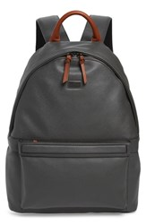 Ted Baker London Crossgrain Backpack Grey Charcoal