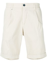 Re Hash Classic Chino Shorts Nude And Neutrals