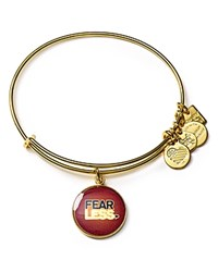 Alex And Ani Charity By Design Fearless Expandable Wire Bangle Yellow Gold