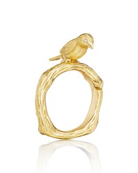 Mimi So Wonderland 18K Gold Bird Ring
