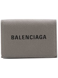 Balenciaga Everyday Mini Wallet Grey
