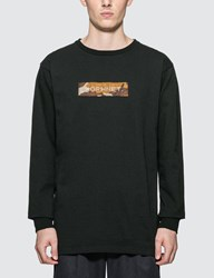 Sophnet. Box Logo Long Sleeve T Shirt Black