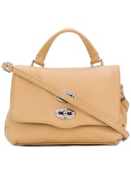 Zanellato Postina Daily Satchel Calf Leather Nude Neutrals