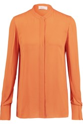 3.1 Phillip Lim Silk Shirt Orange