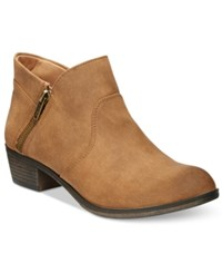 American Rag Abby Ankle Booties Only At Macy's Women's Shoes Tan