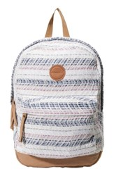 O'neill Sandbar Backpack White Multi Colored