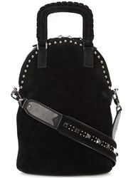 Barbara Bui Studded Tote Bag Black