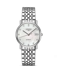 Longines Elegant Watch 34.5Mm White Silver