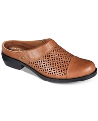 Easy Street Shoes Evette Mules Women's Tobacco