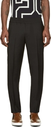 Acne Studios Black Ryder Long Chino Trousers