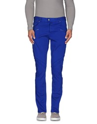 Just Cavalli Trousers Casual Trousers Men Bright Blue