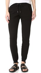Pam And Gela Step Hem Sweatpants Black