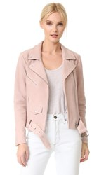 Veda Jayne Suede Jacket Pink Cloud