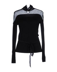 Roberta Scarpa Knitwear Turtlenecks Women Black