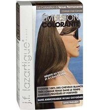 J.F.Lazartigue Colour Emulsion For Grey Hair In Light Ash Chestnut 60Ml
